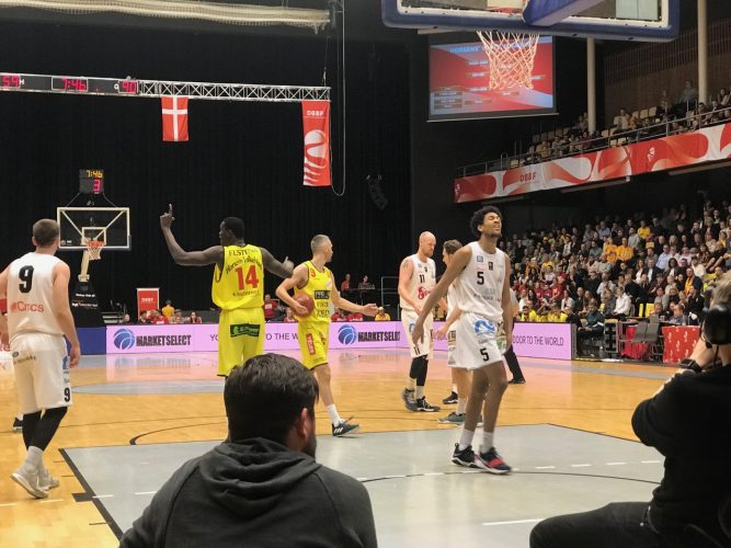 Market Select proud sponsor for the Danish Basketball Federation's Cup Matches in Horsens